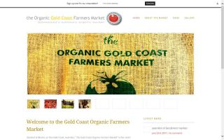 Organic Gold Coast Farmers Market
